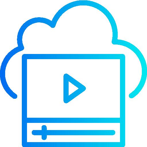 música y multimedia  icono gratis
