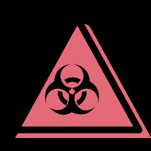 danger biologique  Icône gratuit