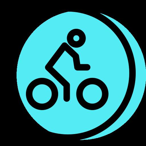 vélo  Icône gratuit