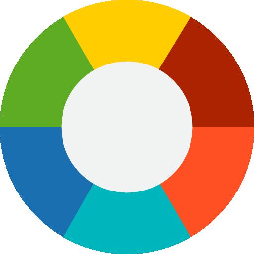 graphique circulaire  Icône gratuit