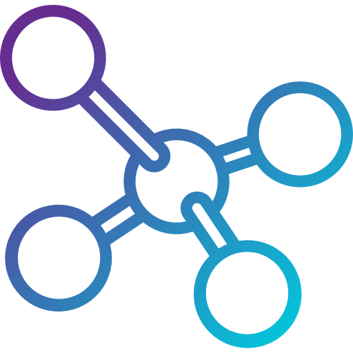 Molecule  free icon