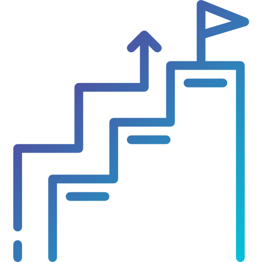 Stair  free icon