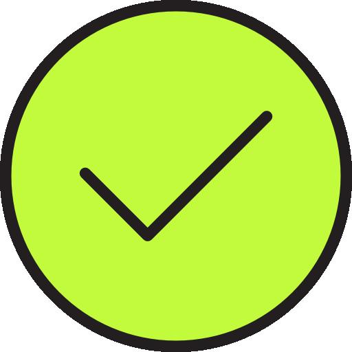 tick  kostenlos Icon