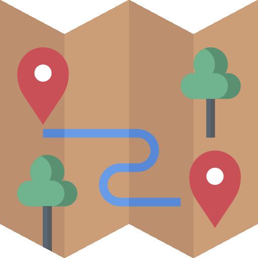 cartes et localisation  Icône gratuit