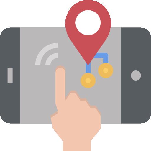 cartes et emplacements  Icône gratuit