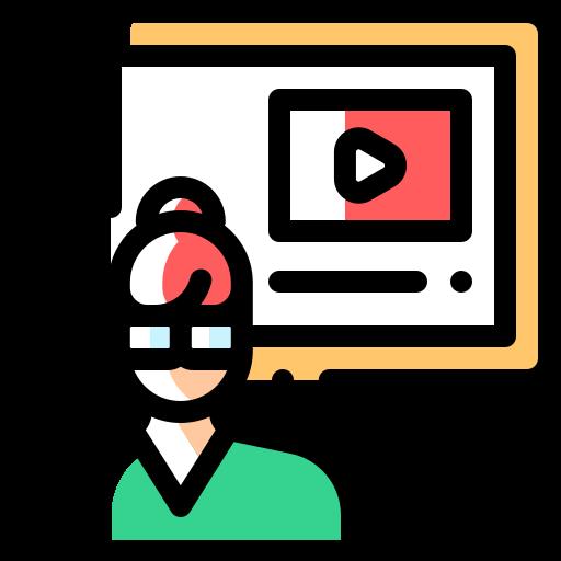 présentation vidéo  Icône gratuit