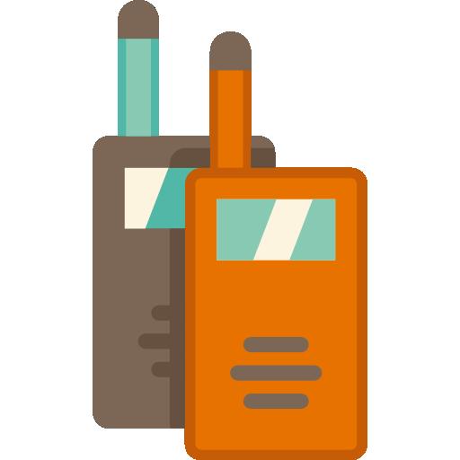 talkie walkie  Icône gratuit