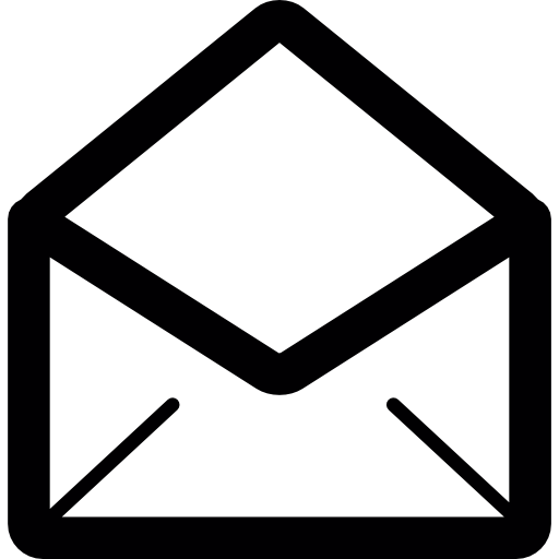 Open mail  free icon