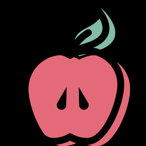 pomme  Icône gratuit
