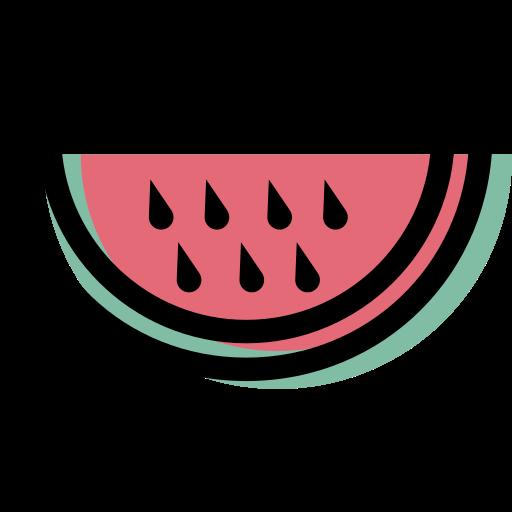 pastèque  Icône gratuit