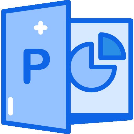 Powerpoint  free icon