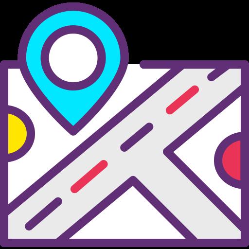 карта  бесплатно иконка