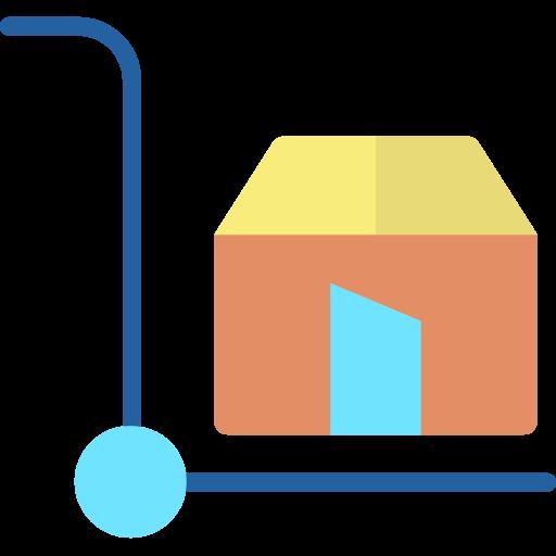la logistique  Icône gratuit