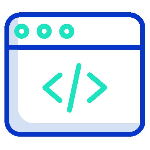 Web programming  free icon