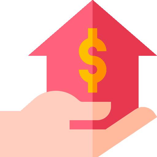Mortgage loan  free icon