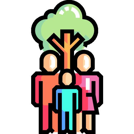 가족 별자리  무료 아이콘