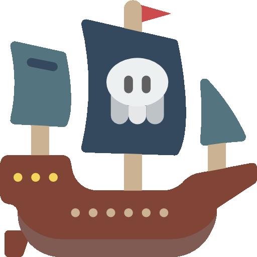 Pirate ship  free icon