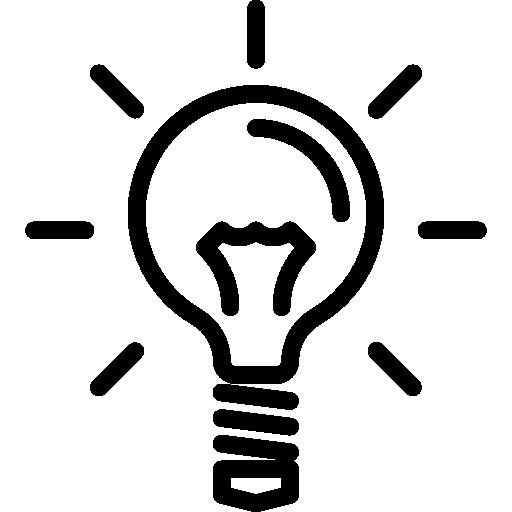 ampoule  Icône gratuit