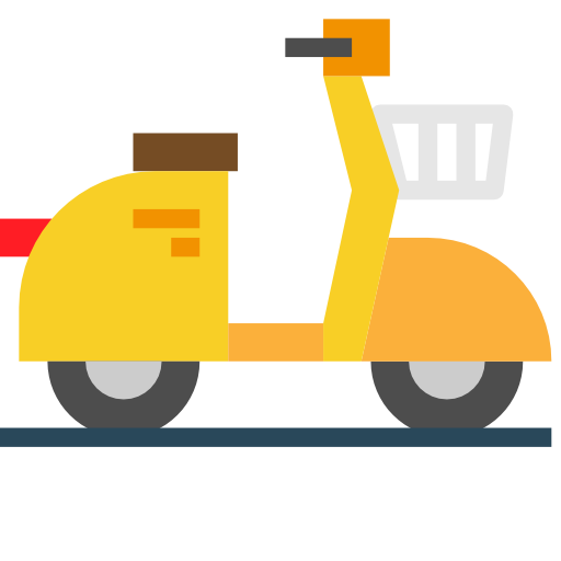 Scooter  free icon