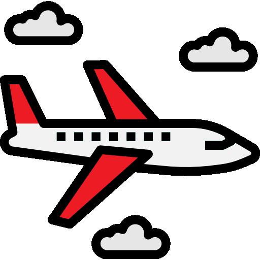 Airplane  free icon