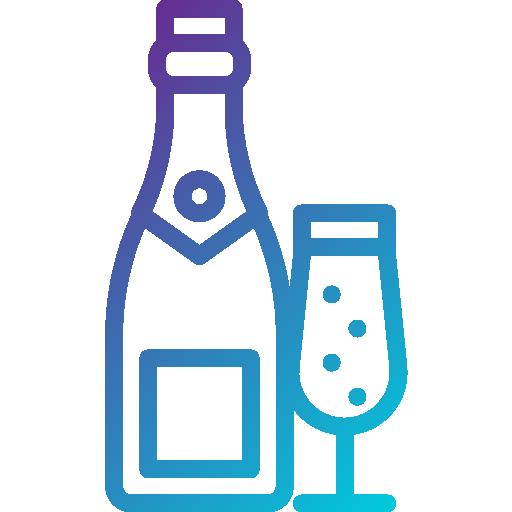 шампанское  бесплатно иконка