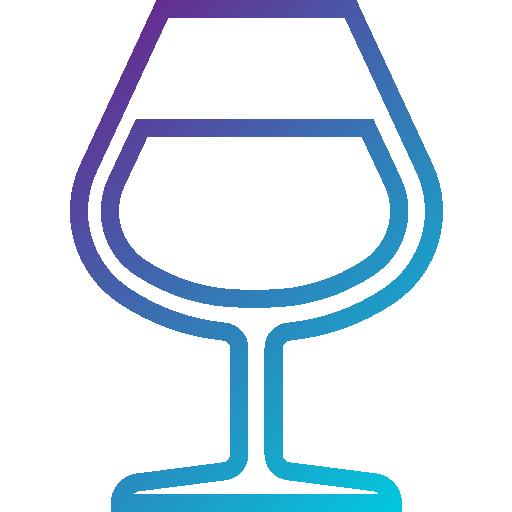 Бокал для вина  бесплатно иконка