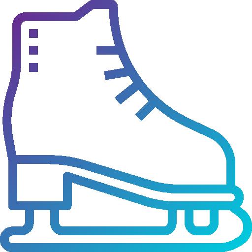 Кататься на коньках  бесплатно иконка