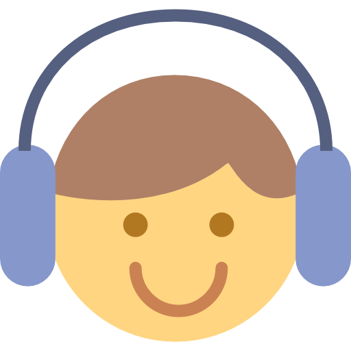 Listening  free icon