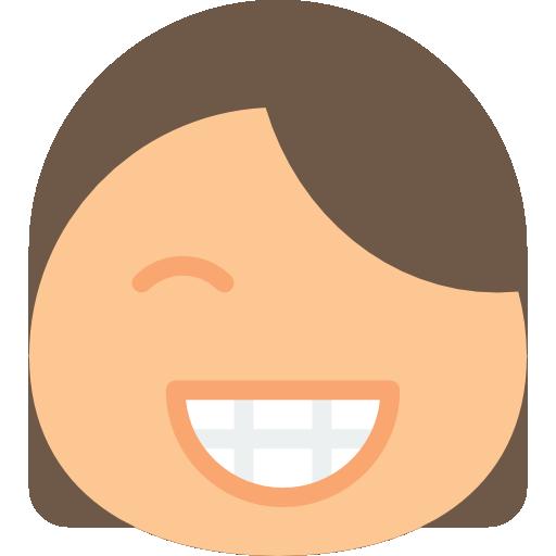 Happy  free icon