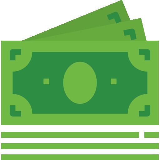 dólar  grátis ícone