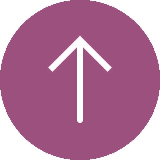 Up arrow  free icon