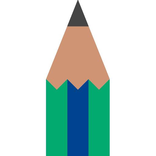 lápis  grátis ícone