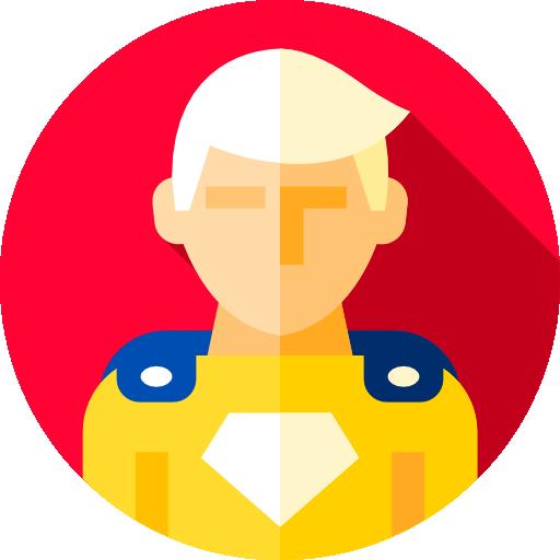 super heroi  grátis ícone