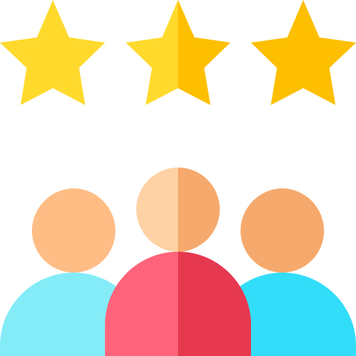 Customer review  free icon