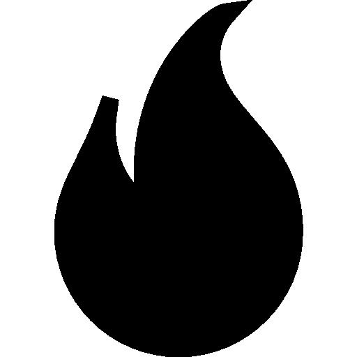 Flame  free icon