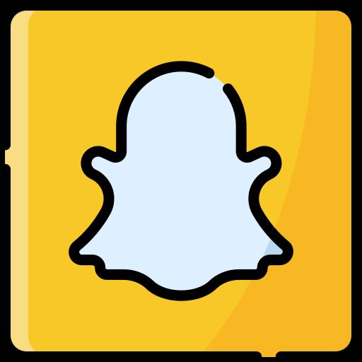 logotipo de snapchat  icono gratis