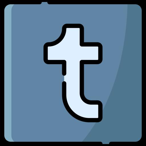 Tumblr logo  free icon