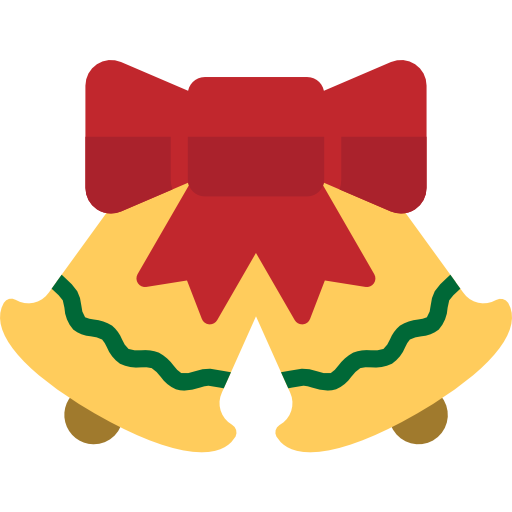 Christmas bell  free icon