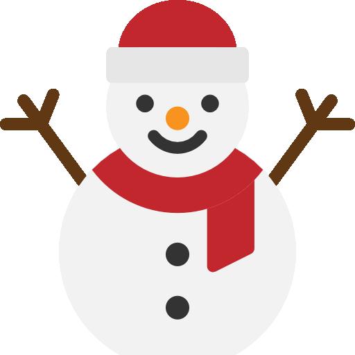 boneco de neve  grátis ícone