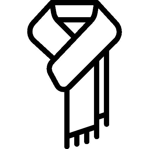 Scarf  free icon