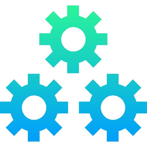 travail en équipe  Icône gratuit