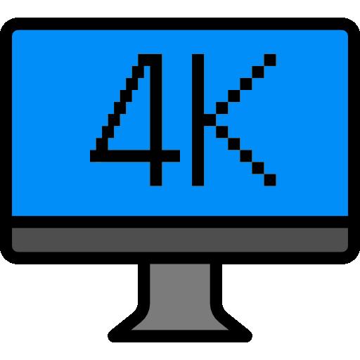 4k  Icône gratuit