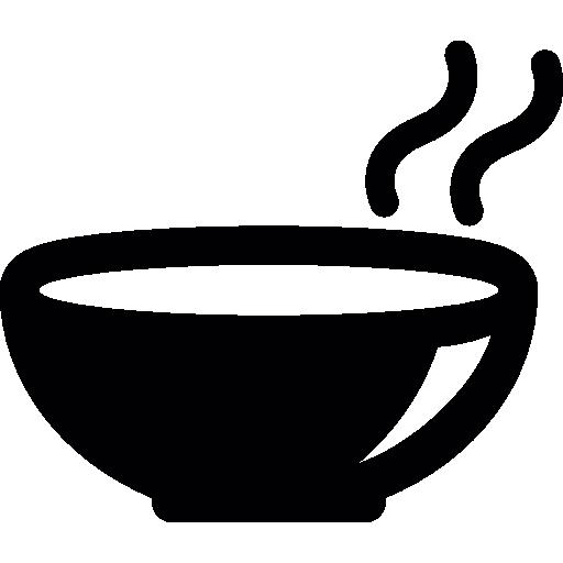 Hot soup bowl  free icon