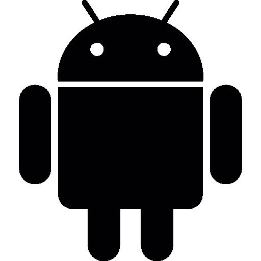 logotipo android  grátis ícone