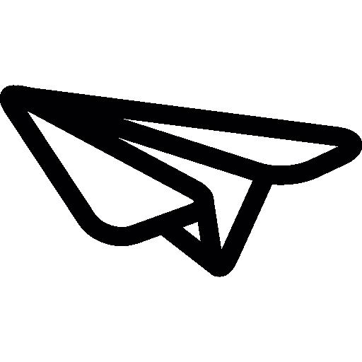 종이 접기 비행기  무료 아이콘