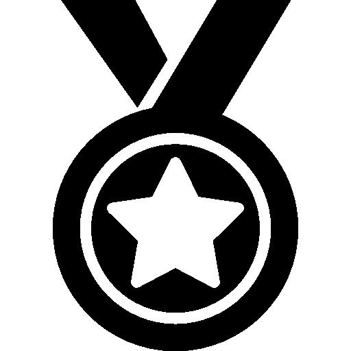 Медаль  бесплатно иконка