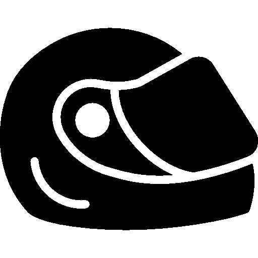 Гоночный шлем  бесплатно иконка
