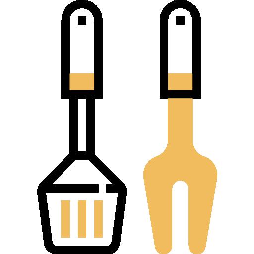 Оборудование для барбекю  бесплатно иконка