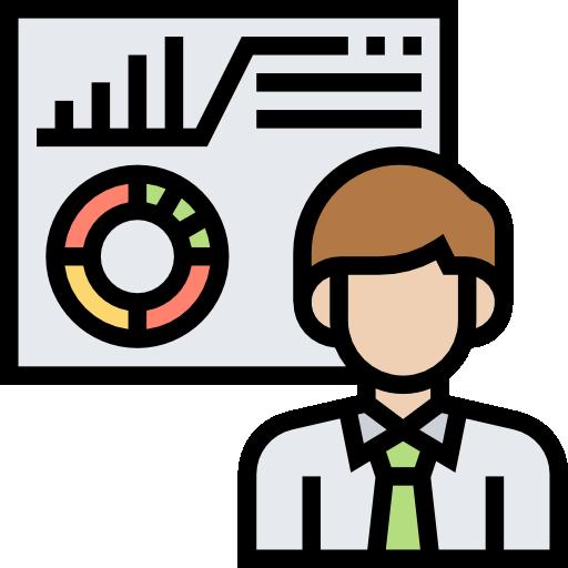 Analysing  free icon