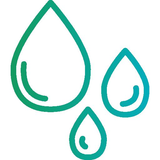 l'eau  Icône gratuit